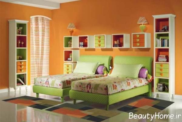 روانشناسی رنگ سبز روشن و اثرات آن در اتاق خواب کودکان
