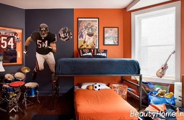 روانشناسی رنگ نارنجی و اثرات آن در اتاق خواب کودکان