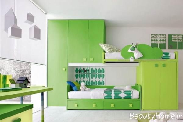 زیباترین رنگ ها برای تزیین اتاق کودکان