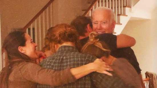 خانواده جو بایدن پس از اعلام نتیجه انتخابات